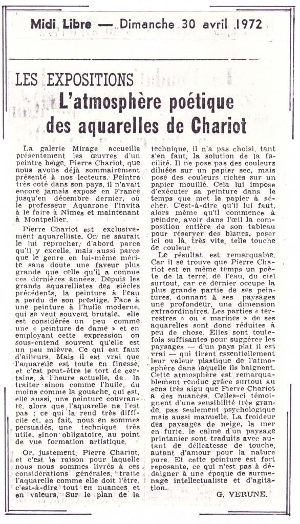 Article du Midi libre (France)