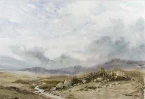 Pluie sur les monts de Wicklow, col.privée